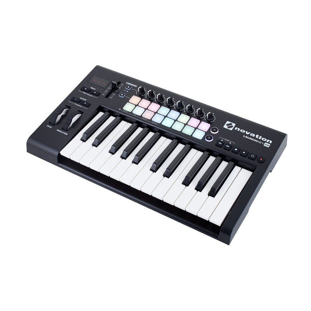 Midi клавиатура NOVATION Launchkey 25 MK2. Фотография 4
