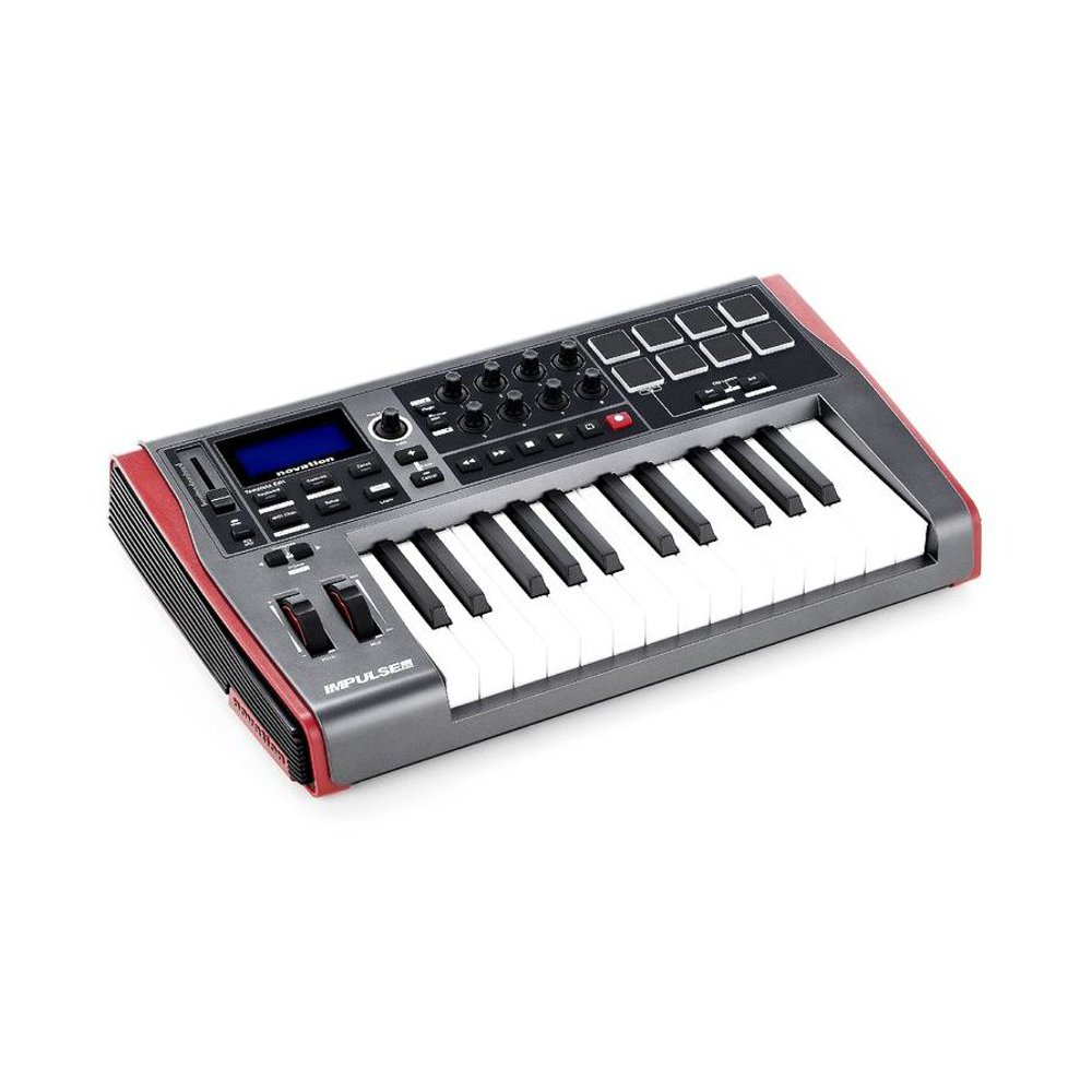 Midi клавиатура NOVATION Impulse 25. Фотография 4