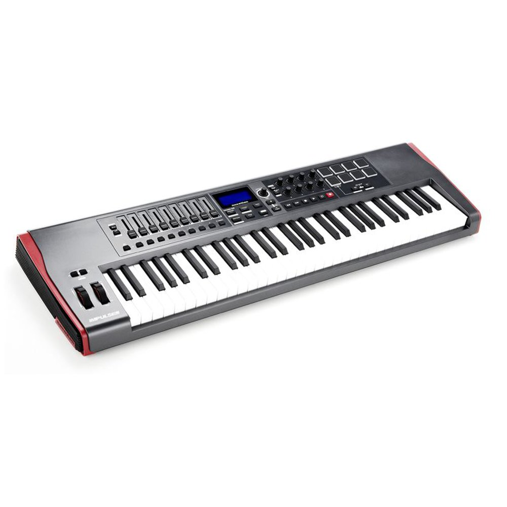 Midi клавиатура NOVATION Impulse 61. Фотография 2